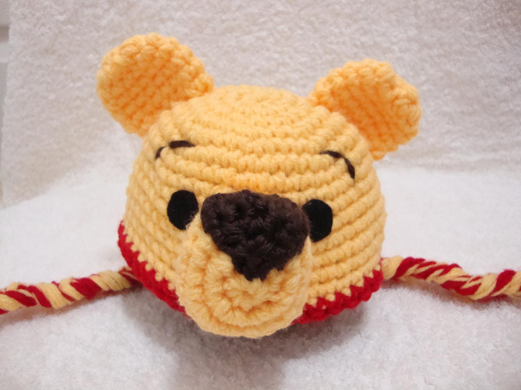 Crochet Pooh Bear Hat Pattern : Everything kids on Pinterest 144 Pins