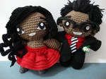 Arjeloops Cute Couple Prom Gift