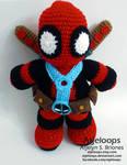 Deadpool Crochet Plushie