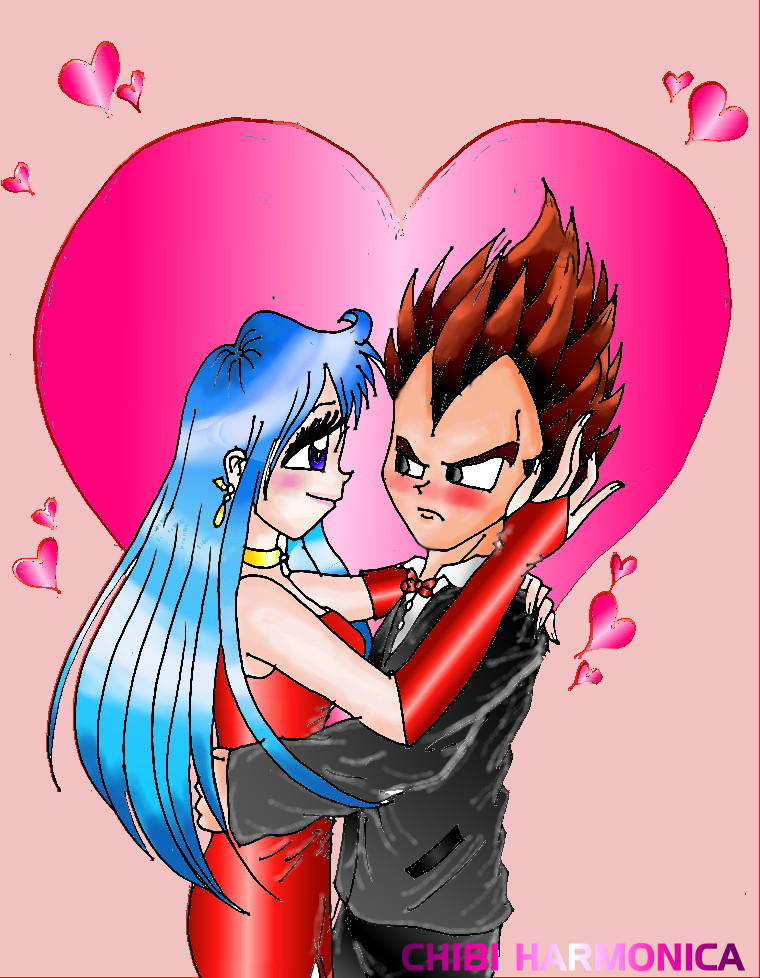 Vegeta and Bulma Romance by princesstressa
