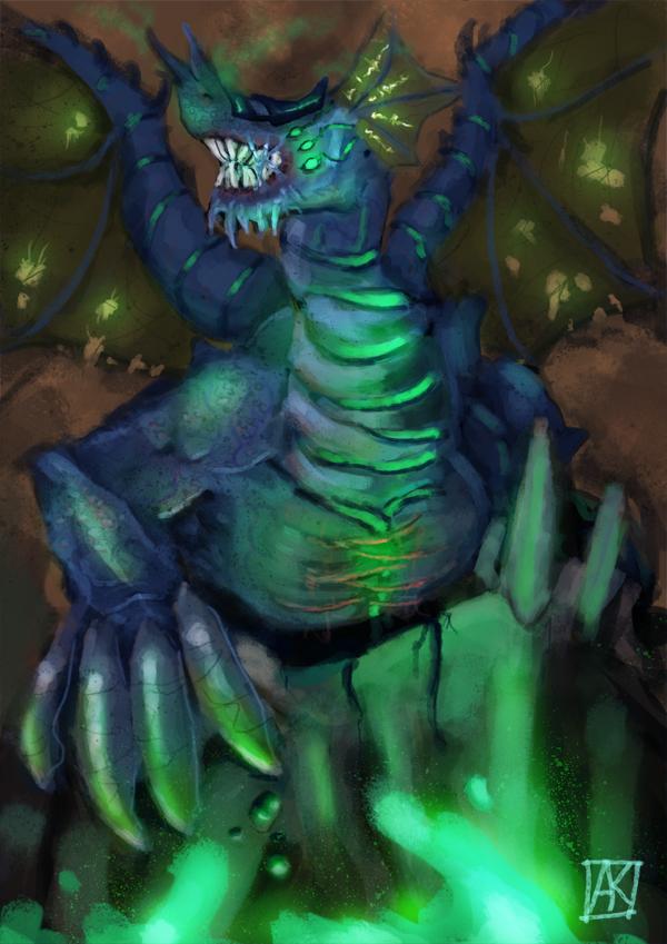 Necrotoxic Dragon by ne0n1nja
