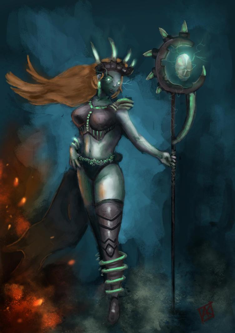 Sorceress by ne0n1nja