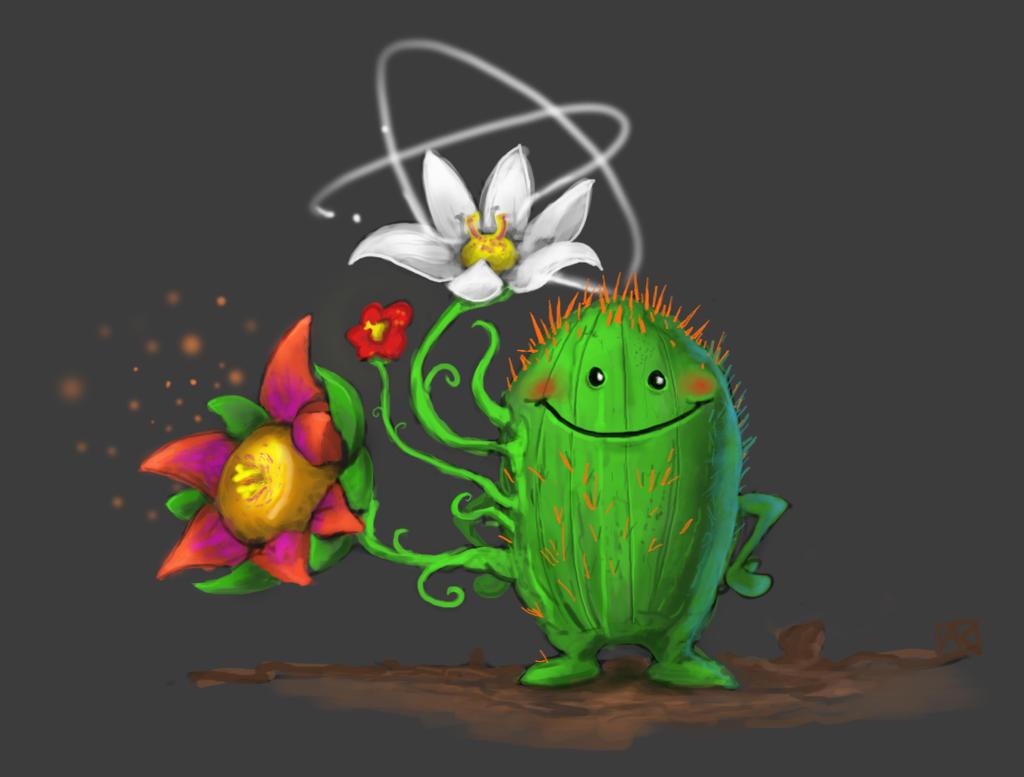 Cacti Thorns by ne0n1nja