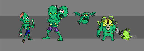 Magic vs. Zombies: The Zombies by ne0n1nja