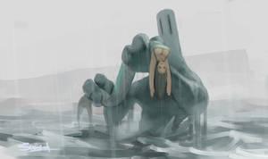 mermaid by nbekkaliev