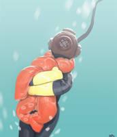octopus by nbekkaliev