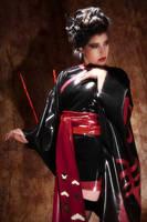Latex Kimono by Brian Burk by Miss-MischiefX