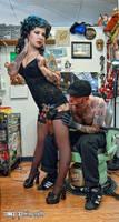 Fun at the Tattoo Parlor