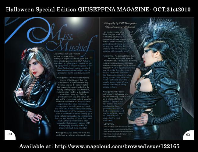 Giuseppina Magazine by Miss-MischiefX