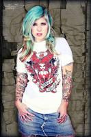 Tattood Lifestyle Tshirt by Miss-MischiefX