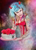 Devil's Cake by Miss-MischiefX