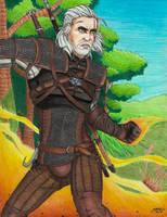 Gift: Geralt by AkulaShuvelle