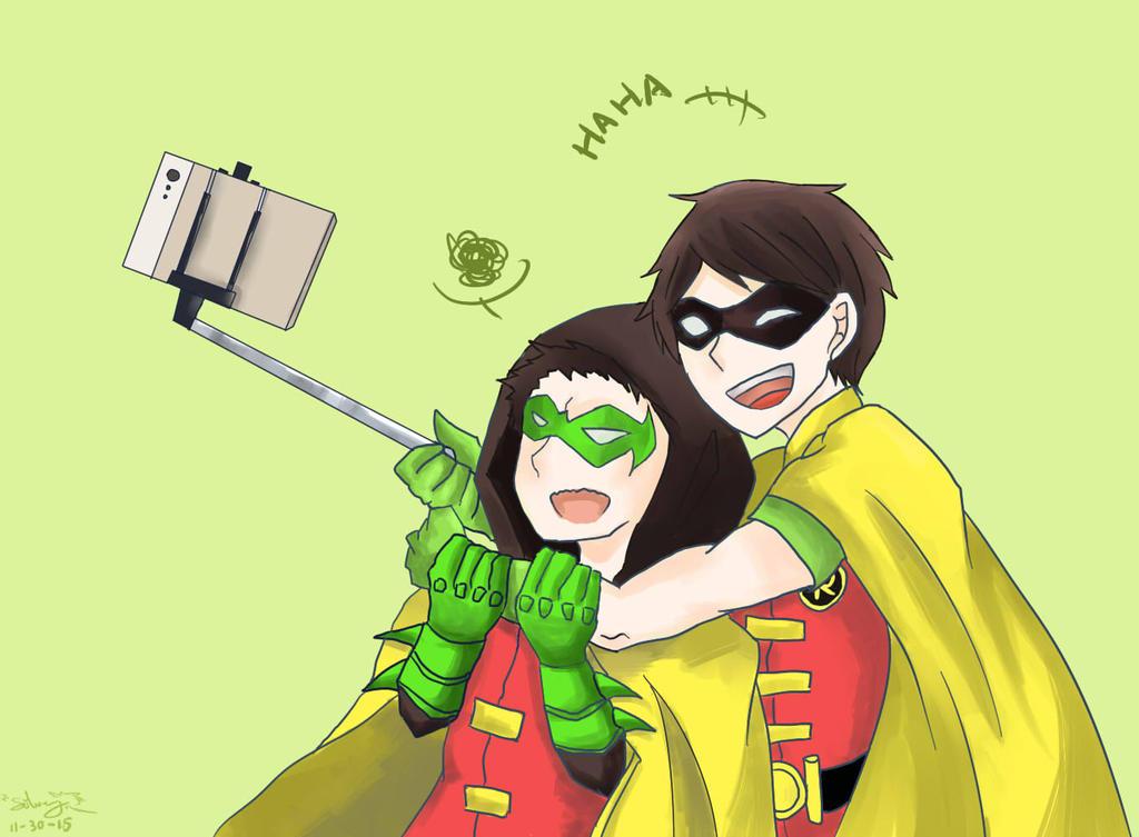 Robin and Robin by Siveryyao