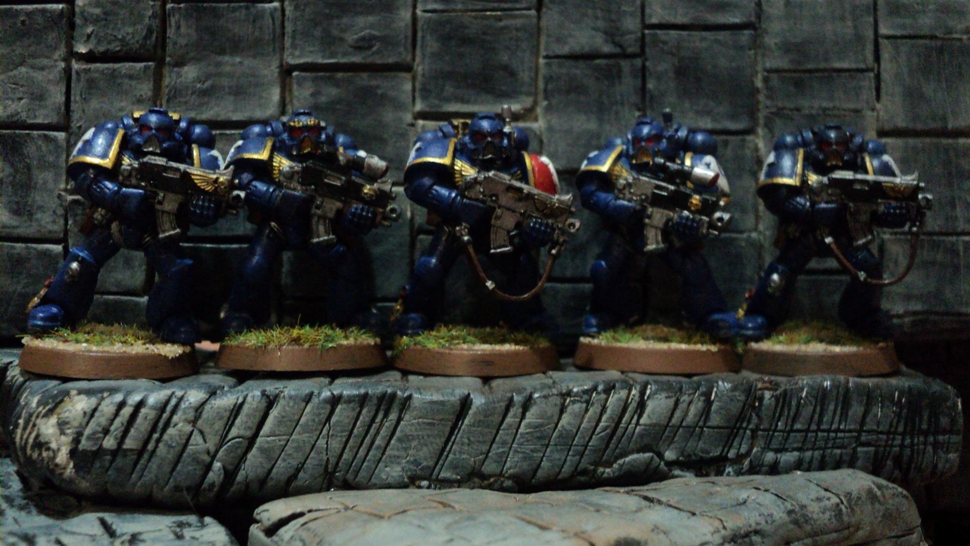Marine Squad Deployed ...