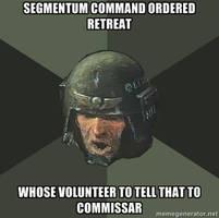 Advice Guardsman -Commissar- by B-l-u-e-y