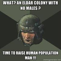 Advice Guardsman -Eldar Colony- by B-l-u-e-y