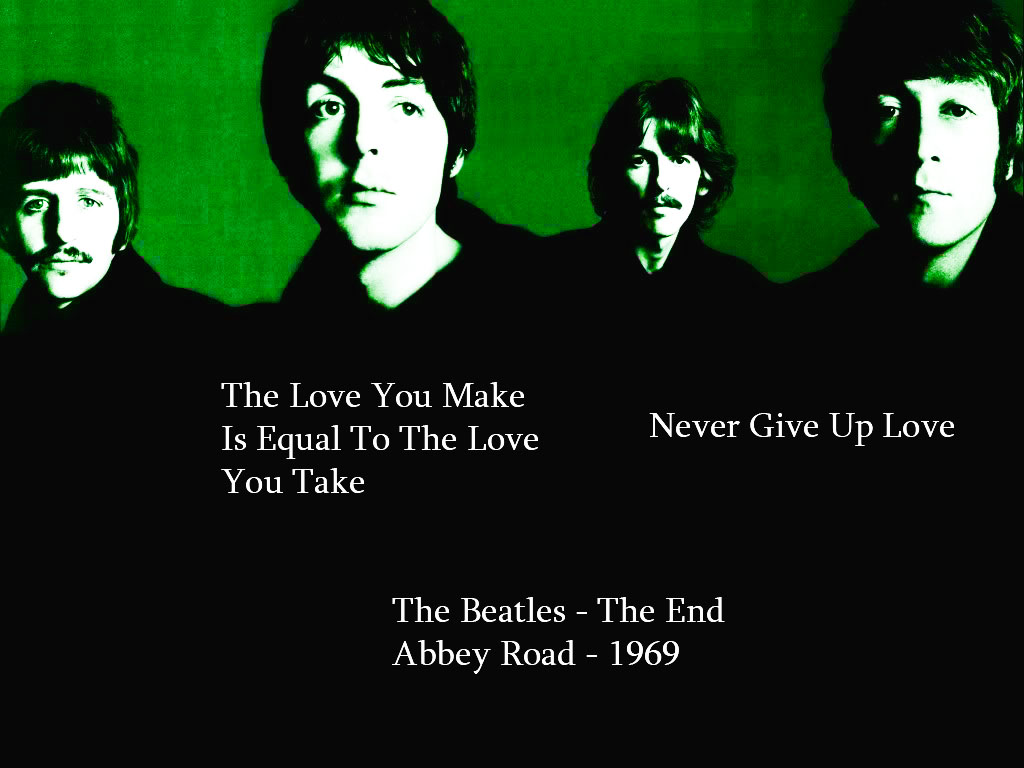 Beatles Quotes Love Lyric Quotes  The Beatlesplanetfantastic On Deviantart