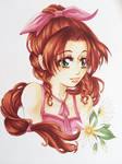 Aerith from FINAL FANTASY 7