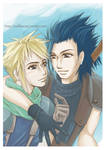 Zack and Cloud- FF VII  Crisis Core / Color