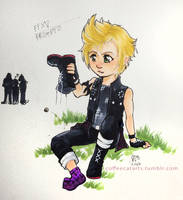 Prompto - City Kids There Days by CoffeeCat-J