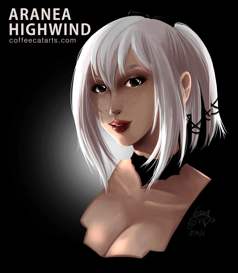 Final Fnatasy XV Aranea Highwing by CoffeeCat-J