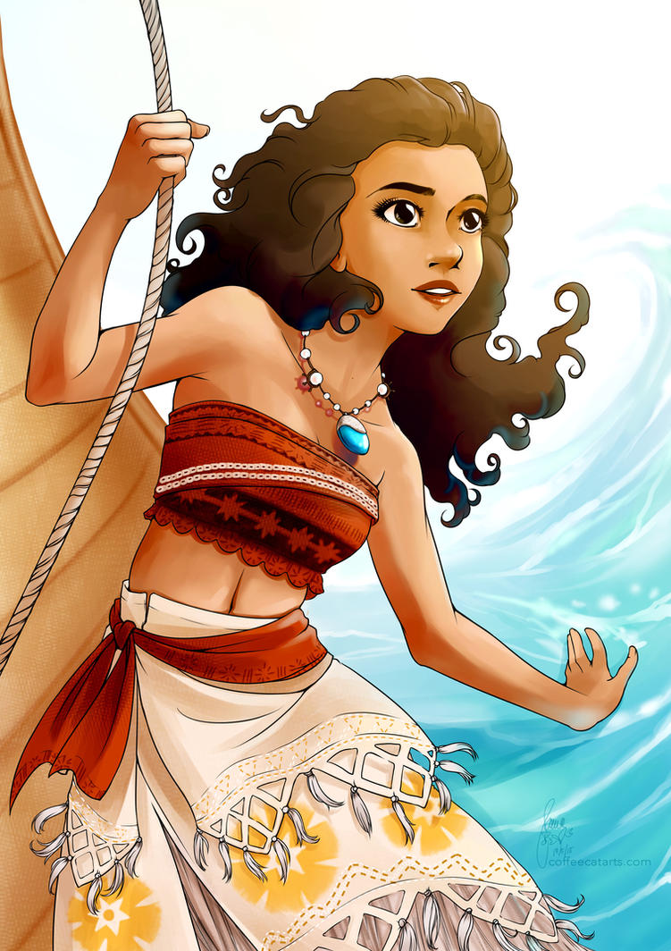 Moana by CoffeeCat-J