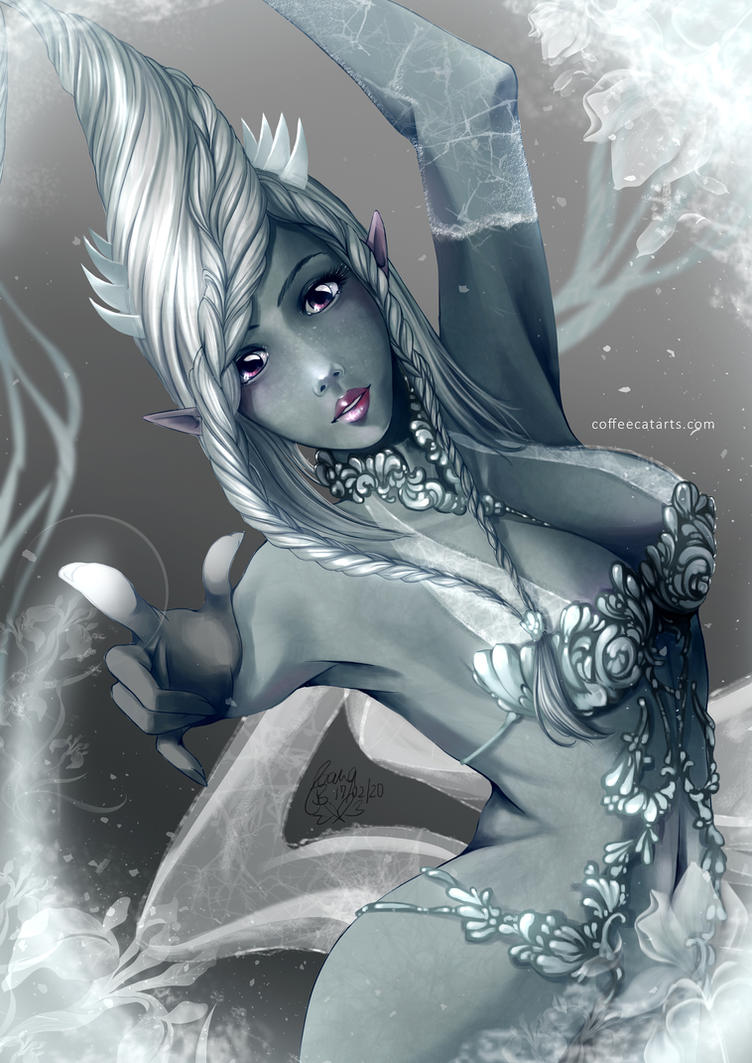 Final Fantasy XV - Shiva by CoffeeCat-J