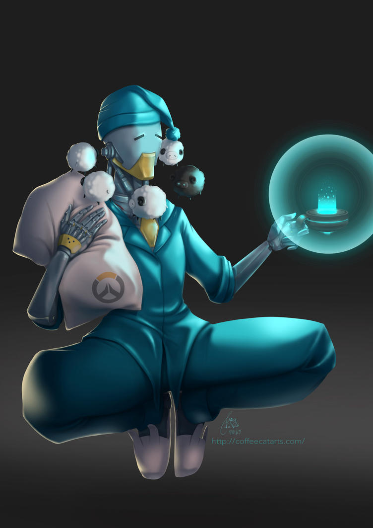 Sleepy Zenyatta by CoffeeCat-J