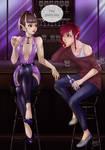 Embers to Stars - Secret Memories - Liora and Skye by CoffeeCat-J