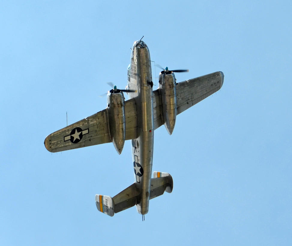 The B-25 Miss Mitchelle by aaaa0000aaaaa
