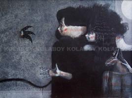 Titania With Faeries by kolaboy