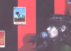 Persimmon Girl no.1 by kolaboy
