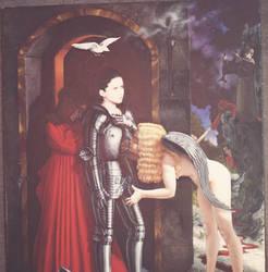 St. Joan Prepares For Battle by kolaboy