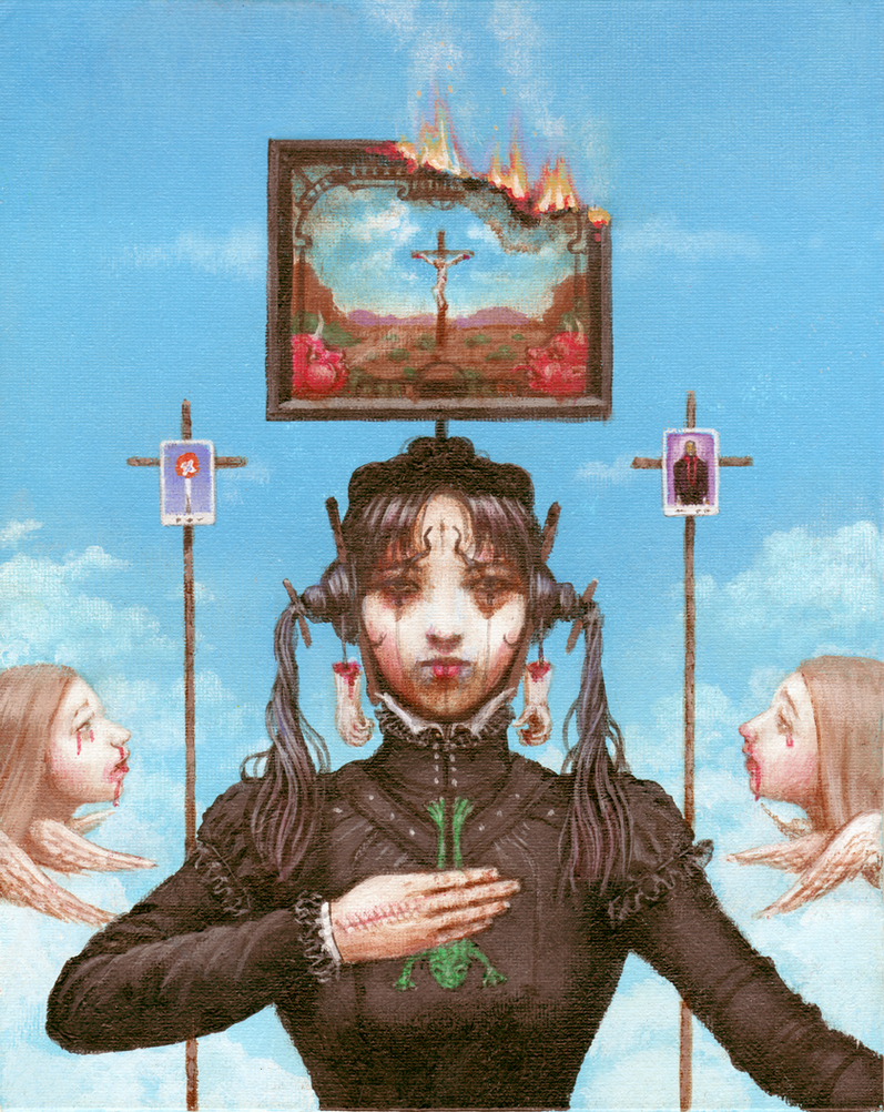 The Noonday Witch by kolaboy