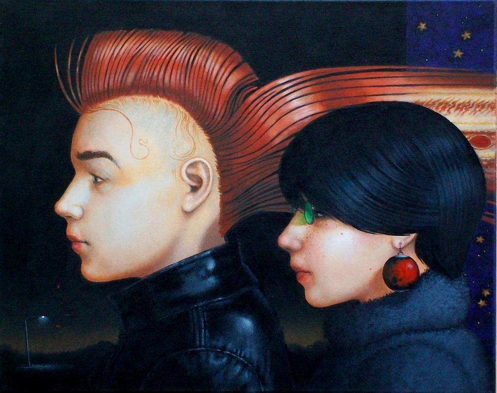 Jupiter and Semele by kolaboy
