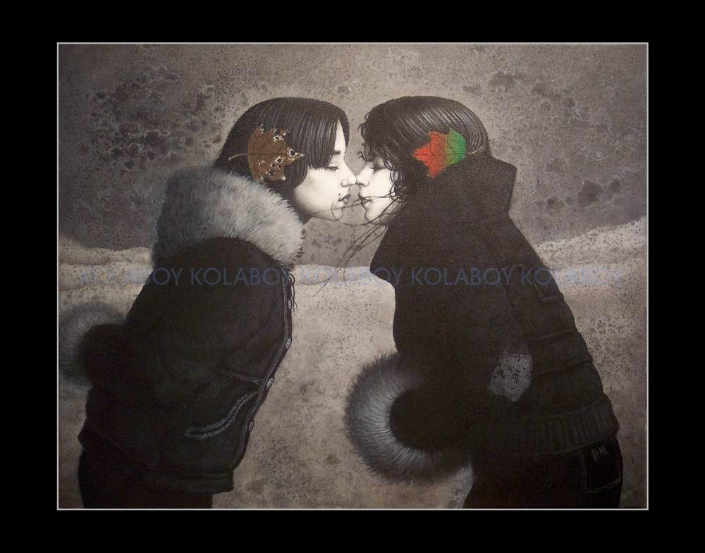 A Kiss On Sled Hilll by kolaboy