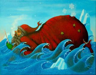 Santa Sea Beast