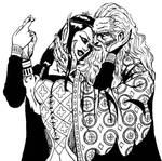 El hada y el mago.