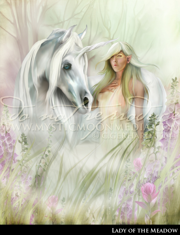 The Lady of the Meadow by MysticMoonMedia