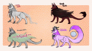 [Halloween Shourinokobi] Adopts -CLOSED- by Finding-The-Key