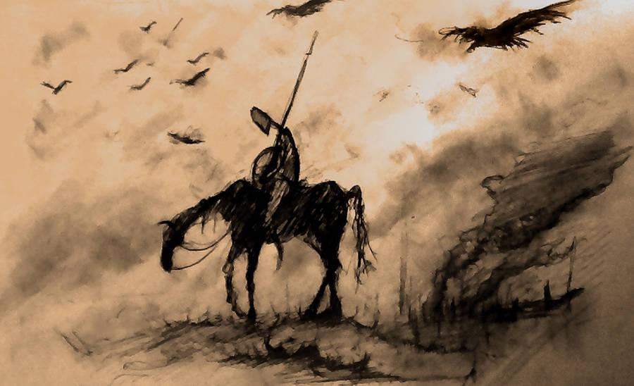 Wandering Knight by EuphoriaOfApe