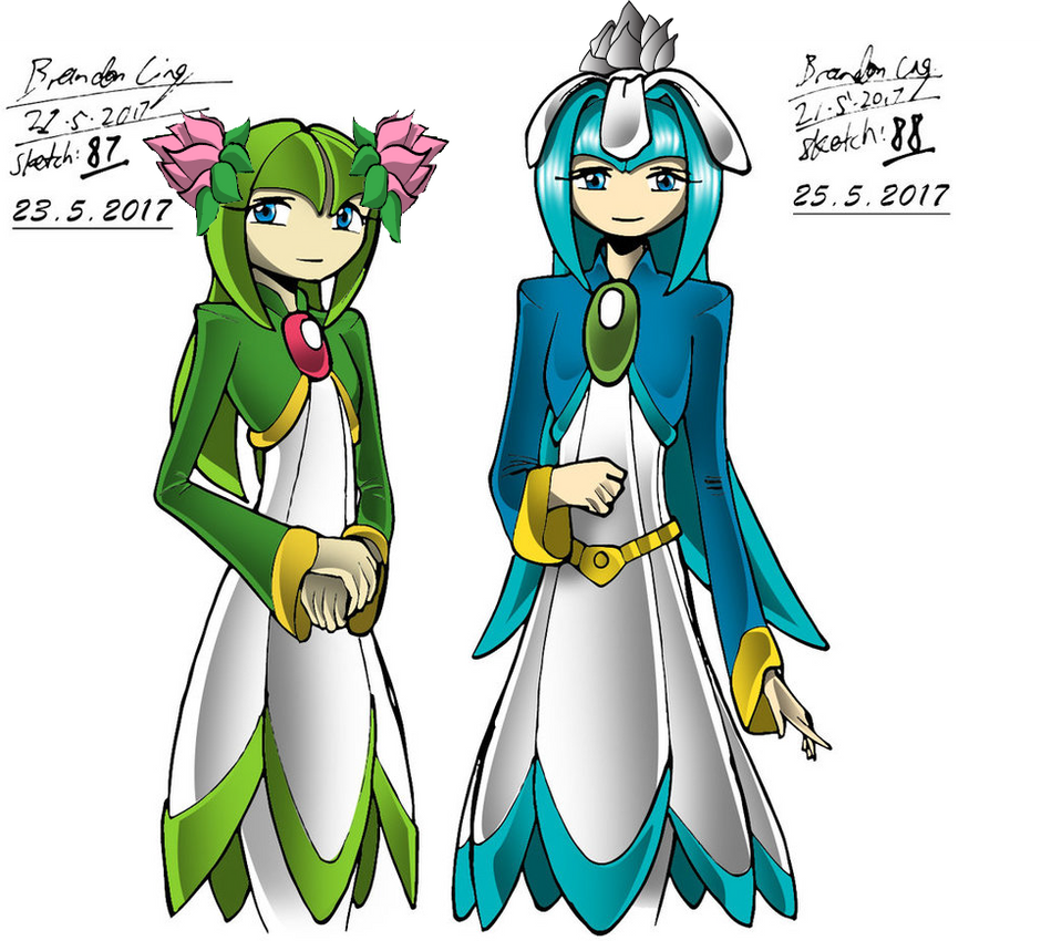 Royal Seedrian Adult Sisters by Gamerz31w