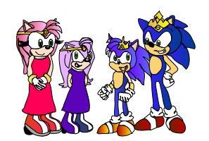 SonAmy Royal Family