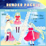 Pack Render Anime By Yoxiao #1