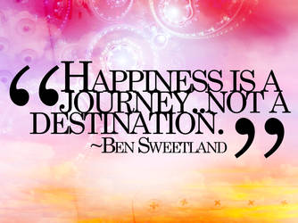 Happiness Quote by cho-oka