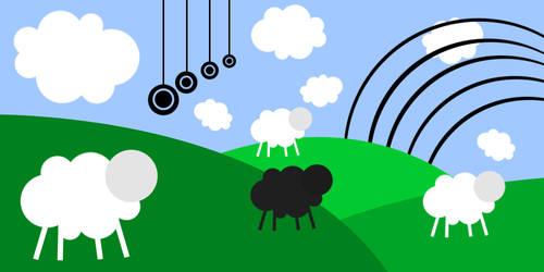 White Sheep, Black Sheep by cho-oka