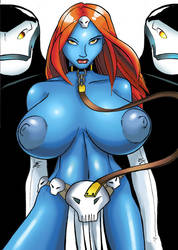mystique by grosbill