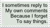 Reply to Self Stamp by Scorpion451