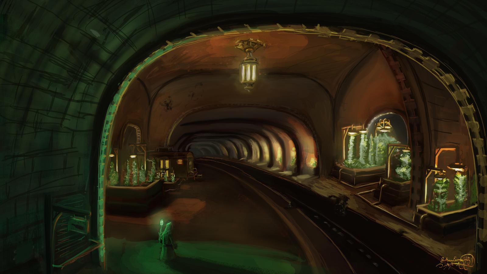 Subterrarium by Scorpion451
