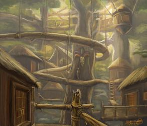 Canopy Village by Scorpion451